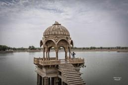 Lago en la India