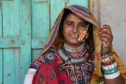 Mujer de Guyarat