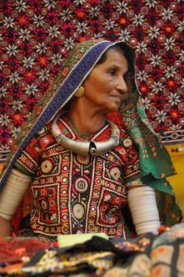 Anciana de Guyarat