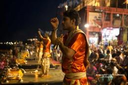 Puya Ganga en Varanasi
