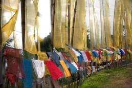 Banderas en Sikkim