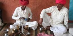 foto ceremonia opio desierto